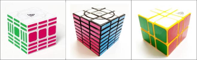 ルービックキューブ WitEden 3x3x○シリーズ