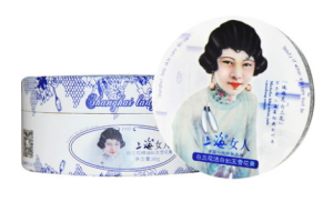 上海女人雪花膏(白蘭花、ギンコウボク)