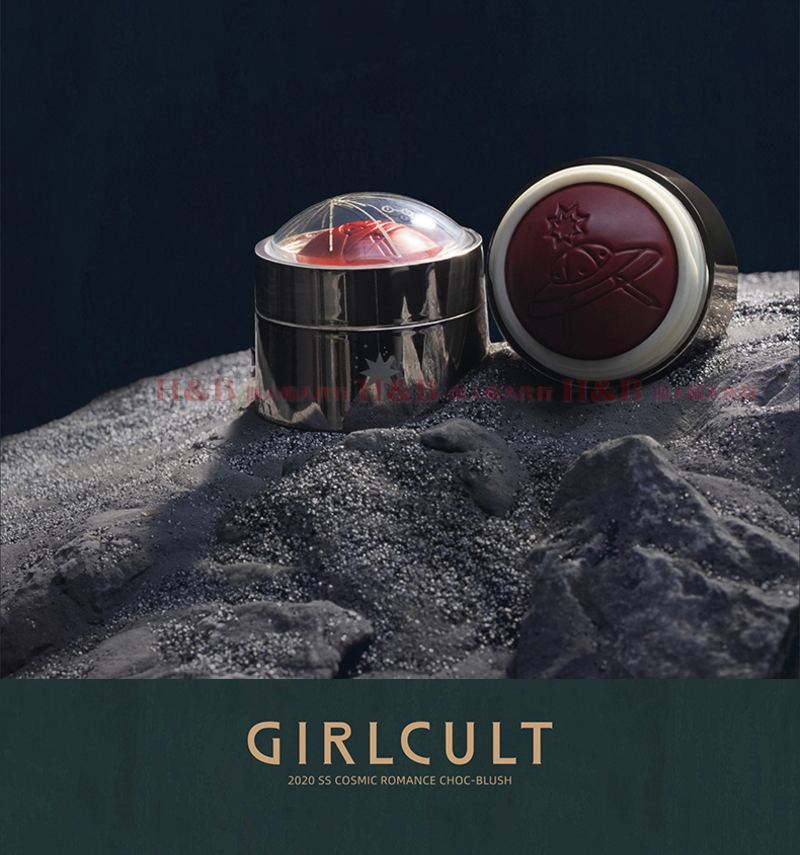 Girlcult宇宙浪漫系チーク(ブラッシュ) Girlcult Cosmic Romanceブラッシュ